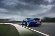 The Porsche 911 5 Million car in Silverstone