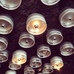 Freehouse Minneapolis keg lights