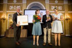 Queen Maxima presents the Appeltjes van Oranje 2016 award
