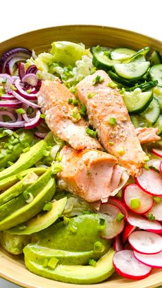 Polish Recipes, Tuna, Salads, Food And Drink, Fish, Meals, Cooking, Kitchen, Healthy Salads