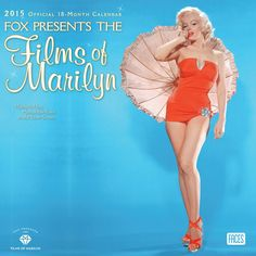 """""""Marilyn Monroe: Fox Presents The Films of Marilyn"""" 2015 wall calendar. Published by BrownTrout, July 2014.  by BrownTrout (Author)"""