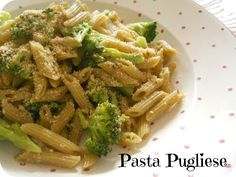 From Veggie to Vegan: Vegan Mofo - Pasta pugliese