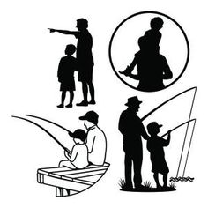 This set of 4 classic Father's Day designs to mind quality time between father and child - fishing, teaching, learning and fun times together. These patterns are also suitable to celebrate Granddad on Father's Day. Cuttable Design Cut File. Vector, Clipart, Digital Scrapbooking Download, Available in JPEG, PDF, EPS, DXF and SVG. Works with Cricut, Design Space, Sure Cuts A Lot, Make the Cut!, Inkscape, CorelDraw, Adobe Illustrator, Silhouette Cameo, Brother ScanNCut and other compatible…
