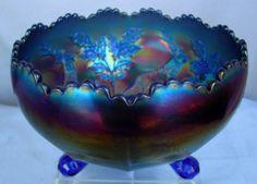 Carnival Glass Rosebowl