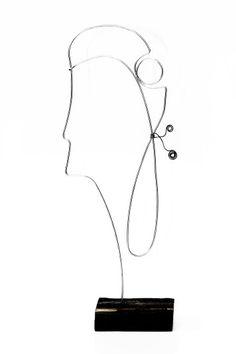 Mademoiselle   30 x 15 cm   vintage wood & galvanized wire    contact: artbending@gmail.com    Photo credit: Paula Gecan Vintage Wood, Photo Credit, Wire, Photography, Antique Wood, Photograph, Fotografie, Photoshoot, Fotografia