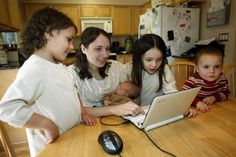 The advantages of helping kids learn to navigate the digital world, rather than shielding them from it