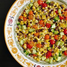 Lime Cilantro Fresh Corn Salad
