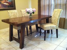 55+ Pottery Barn Dining Table - Best Paint for Interior Walls Check more at http://www.soarority.com/pottery-barn-dining-table/