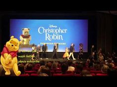 This video was taken at the European premiere for the new Disney Christopher Robin film. The Premiere took place at BFI Southbank in London, not too far from. Disney Christopher Robin, London, Adventure, Film, Concert, Videos, Youtube, Movie, Film Stock