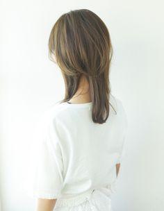 大人可愛い小顔セミディヘア(YR-317) | ヘアカタログ・髪型・ヘアスタイル|AFLOAT(アフロート)表参道・銀座・名古屋の美容室・美容院