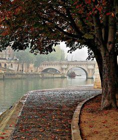 Paris - flaner sur les quais de la Seine, en savourant le plaisir d'être là.....