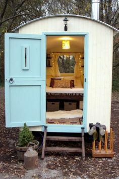 Shepherds Hut From Outside, For Sale On Ebay Lovely!