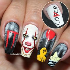 Just check the best Halloween nail designs in 2018 between creepy coffin shaped Halloween nails, Halloween press on nails and more of Halloween nail ideas! Halloween Press On Nails, Halloween Acrylic Nails, Halloween Coffin, Halloween Nail Designs, Spooky Halloween, Ongles Halloween, Gorgeous Nails, Love Nails, My Nails