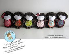 * Dolls And Daydreams - Doll And Softie PDF Sewing Patterns: Hedgehog Sewing Pattern is here and ready to play! Baby Toys, Kids Toys, Dolls And Daydreams, Pdf Sewing Patterns, Sewing For Kids, Softies, Holiday Crafts, Crochet Hats, Crochet Ideas