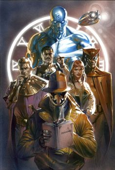 The Watchmen by Gabriele Dell'otto