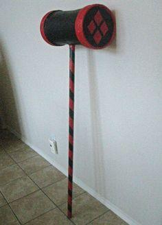 DIY Harley Quinn Hammer