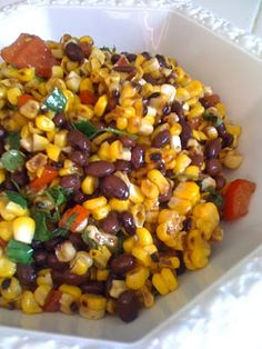 Grilled Corn and Black Bean Salad with Balsamic Cilantro Dressing –  Tasty Kitchen: A Happy Recipe Community!