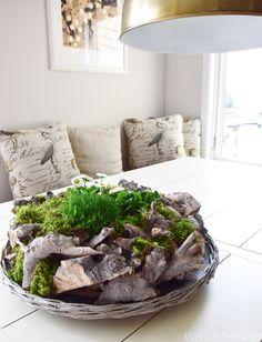 adventskranz ideen selber machen diy nat rlich schnell gemacht adventskr nze aus natur deko. Black Bedroom Furniture Sets. Home Design Ideas