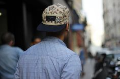 Colorful 5-panel Caps