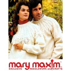 Use our vintage pattern to knit this pullover. Pattern Books, Pattern Paper, Drops Design, Vintage Sweaters, Vintage Patterns, Needlework, Knit Crochet, Pullover, Knitting