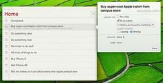 Set Location Based Reminders in OS X Mountain Lion