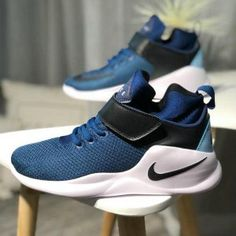 04b0173b7693 Mens Womens Nike Kwazi Coastal Blue White Black 844839 400 Basketball Shoes