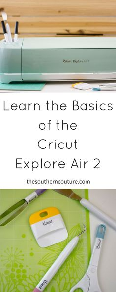 Get to know the Cricut Explore Air 2, the one crafting tool that will change your life with endless possibilities and crafts. @Cricut #CricutMade #ad