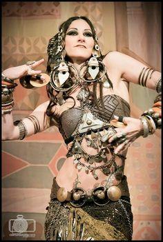 Rachel Brice tribal Fusion belly dance ATS EMPRESS Gothic