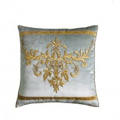 Antique Ottoman Empire, Raised Silver and Gold Metallic Embroidery $5,000. B. Viz Design |  | http://bviz.com