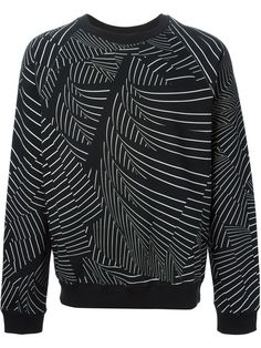 Christopher Kane Pages Print Sweatshirt - Minetti - Farfetch.com