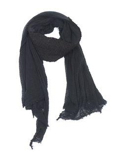 CUTULICULT black vetara scarf Scarfs, Belts, Branding Design, Luxury Fashion, Elegant, Shopping, Black, Women, Style
