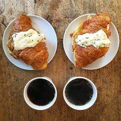 Instagram media symmetrybreakfast - Saturday: Our last day in the US!  We're at @tattebakery in Boston having the Croissant Croque Madame, with mornay sauce and probably the last cup of black drip coffee I have this year ☕️ See you tomorrow London!  #tastierthanitlooks #symmetrybreakfast