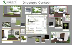 Minerva Dispensary Design |  Minerva Canna Group serves patients in Albuquerque, NM, offering the stat's premier cannabis experience. Their new space is designed to offer a comfortable, safe, and unique dispensary and retail experience to every visitor.