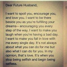 Dear Future Hysband More Más
