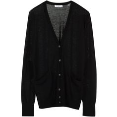 EQUIPMENT Sullivan Cardigan ($248) ❤ liked on Polyvore featuring tops, cardigans, outerwear, sweaters, jackets, black, equipment tops, tartan top, relaxed fit tops and black cardigan