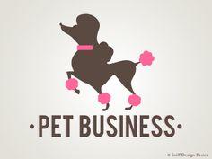 A fun idea for a dog grooming salon/shop. I #PreMadePetLogo  I #ReadyMadePetLogo I #PetBusinessLogo I #PetLogoDesign  I #PetGroomingLogo I #DogGroomingLogo I #PetGroomerLogo I #SniffDesignBasics