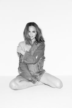 #denim #casual #chic #jacket #shorts