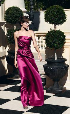 Angelina in Carolina Herrera