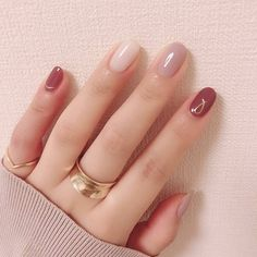 Autumn is the best season for hangout with friends, and you can try some fashional and special nails. Here is a poly gel nail for Autumn for your reference. Stylish Nails, Trendy Nails, Cute Nails, Pink Nails, Gel Nails, Acrylic Nails, Orange Nails, Special Nails, Minimalist Nails