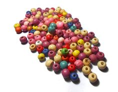 Round Wooden Beads Mix Color Beads Jewelry findings Diy Jewelry Making Jewelry supplies Colorful beads Craft supplies by Neda, Etsy Handmade, Handmade Items, Handmade Gifts, Etsy Jewelry, Beaded Jewelry, Jewelry Supplies, Craft Supplies, Diy Jewelry Making, Handmade Accessories