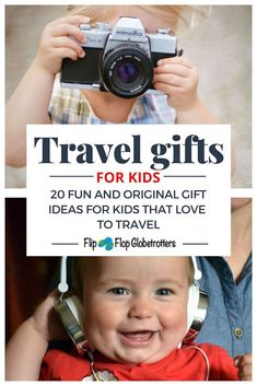 Gift guide with the best travel toys for kids. Great gift ideas for traveling children and travel inspired presents for kids that love to travel. Best Travel Gifts, New Travel, Travel With Kids, Family Travel, Presents For Kids, Gifts For Kids, Fun Gifts, Traveling With Baby, Traveling By Yourself