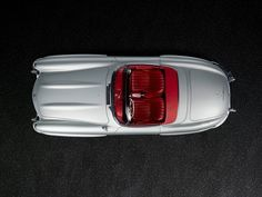 Great shot of a Mercedes SL Carrera, Car Top View, Daimler Benz, Mercedes Benz 300, Top Cars, Car Pictures, Hot Wheels, Vintage Cars, Classic Cars