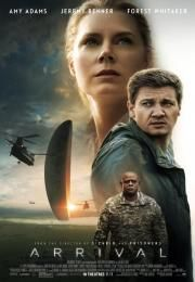 """Arrival is a 2016 American science fiction film directed by Denis Villeneuve and adapted by Eric Heisserer, based on the 1998 short story, """"Story of Your Life"""" by Ted Chiang. It stars Amy Adams, Jeremy Renner, and Forest Whitaker Science Fiction, Fiction Movies, Sci Fi Movies, Hd Movies, Movies To Watch, Movies Online, 2016 Movies, Cinema Movies, Jeremy Renner"""