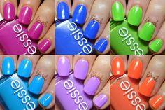 Essie Summer Neons Collection 2014