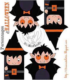 Printable Diy Halloween, Halloween Imagem, Bonbon Halloween, Halloween Vintage, Halloween Bunting, Theme Halloween, Halloween Clipart, Halloween Stickers, Halloween Cards