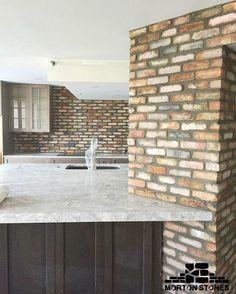 Reposting @morton_stones: Cozy and inviting kitchen design with brick walls. #mortonstones #interiordecor #interiordecoration #homedesign #interiordecorating #interiorinspiration #interiorinspirations #brickwall #modernhome #decor #interiordesign #homeideas #interiorideas #rusticstyle #brickveneer #brickdesign #rustichome #decordesign #bricktiles #decoration #kitchendesign #kitchenbrick #interiorbrickwall #homedesigns #rusticinterior #homeprojects #beautifulinterior #homeproject #cozyhome