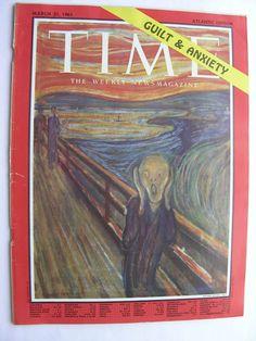 TIME MAGAZINE March 31 1961Edvard Munch Scream Harry Bertoia Elijah Muhammad