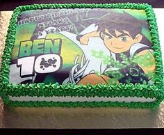 Ben 10 Picture Cake