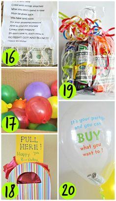DIY Birthday Money Gift Ideas