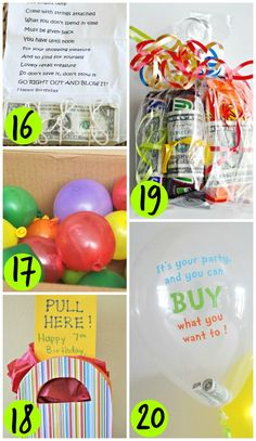 DIY Birthday Money Gift Ideas